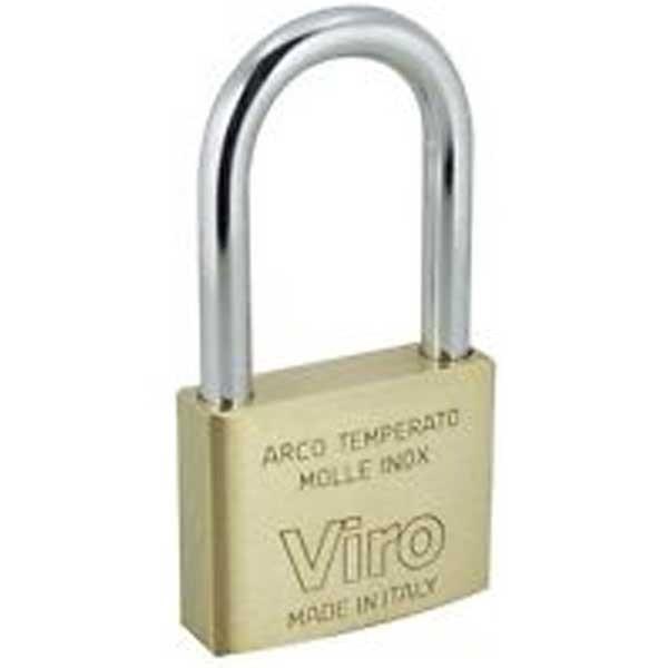 Viro Brass Padlock 40mm LS