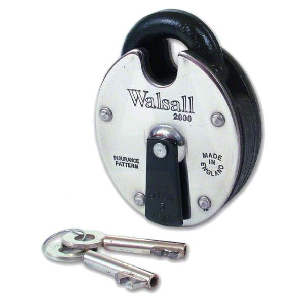 Walsall Padlock 2000 5L ANTI-PICK