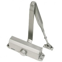 Briton 121CE Overhead Door Closer Silver