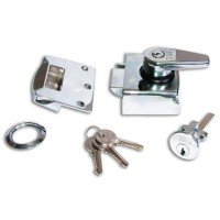Era 183 Deadlocking Cyl Nightlatch Chrome