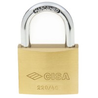 Cisa Brass Padlock 22010 40mm OS