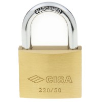 Cisa Brass Padlock 22010 50mm OS
