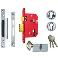 Era Fortress Keyless Egress Sash 64mm Satin Chrome