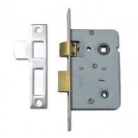 Legge Bathroom Lock 64MM Nickel Plated