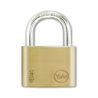 Yale Essential Brass Padlock 40mm