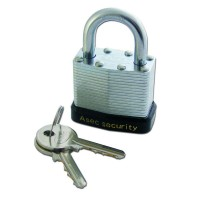 Asec Laminated Padlock 40mm