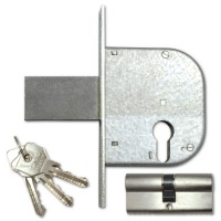 Cisa 42021-50 85mm Euro Gate Lock