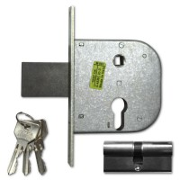 Cisa 42311-50 95mm Euro Gate Lock