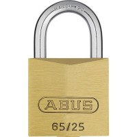 65/25mm Brass Padlock