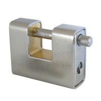 Asec Steel Sliding Shackle Padlock 80mm