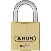 Abus 85/25mm Brass Padlock