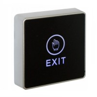 Securefast LED Touch To Exit Button Black