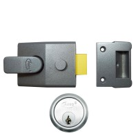 Grey Case - Satin Chrome Cylinder