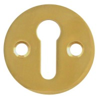 Asec Escutcheon 32mm Face Fix PB
