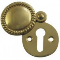 Asec Georgian Escutcheon 32mm PB