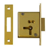 Asec No.15 4 Lever Cut Cupboard Lock 54mm RH
