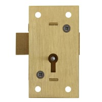 Asec No. 36 2 Lever Straight Cupboard Lock