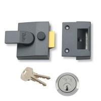 Grey Case & Satin Chrome Cylinder
