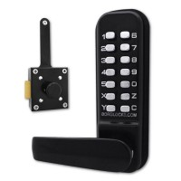 Borg Locks BL4409MG Wooden Gate Digital Slam Latch