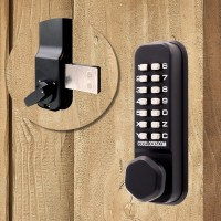 Codelocks CL200 Marine Grade Surface Deadbolt Blk
