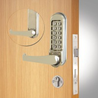 Codelocks CL520 Mortice Lock Stainless Steel
