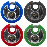 Asec Coloured Discus Padlocks