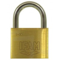 Ifam E50 Brass Padlock 50mm