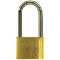 Ifam E50 Brass Padlock 50mm XLS