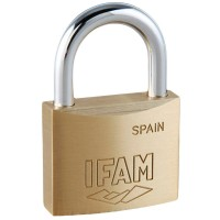 Ifam E60 Brass Padlock 60mm