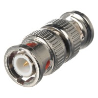 Fortis BNC Male To Male Connector