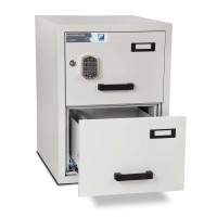 FF200 Filing Cabinet 2 Drawer Electronic