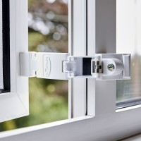 Jackloc Titan Folding Window Restrictor