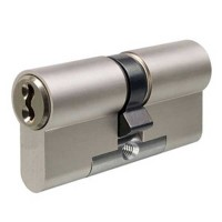 Evva 3KS Plus Double Euro Cylinder Nickel Plated