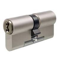 Evva 3KS Plus Double Euro Cylinder Nickel Plated