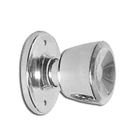 Weiser Beverly Dummy Knob Satin Chrome