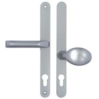 Hoppe Lever / Moveable Pad 92/62PZ 240mm Silver