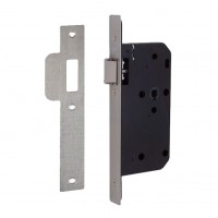 Union DIN Mortice Latch Square Forend