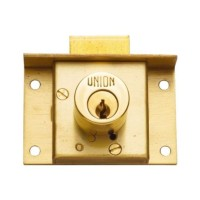 Union Cylinder Cut Drawer Lock 64mm