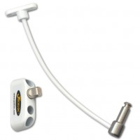 Jackloc Window Restrictor Push & Turn White