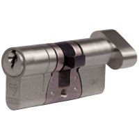 Abus E90 Thumbturn Cylinder Z40K40 Nickel KA