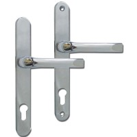 Asec UPVC Door Handles 92 / 240mm Chrome