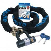 Oxford High Security Chain Lock 1m x 8mm