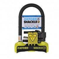Oxford SHACKLE 14 U-Lock 260mm Yellow