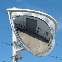 Securikey Exterior Half Face Security Mirror