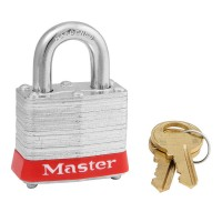 3 Padlock Laminated Yellow Keyed To Differ