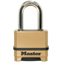 Master Lock Excell Combination Padlock Gold 50mm