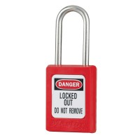 Master Lock S33 Global Zenex Snap Red
