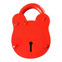 Morgan NKS100 3 Lever NKS Old English Padlock