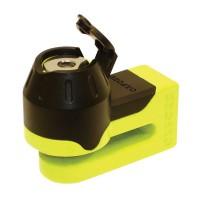 Oxford Mini T Disc Lock Yellow