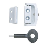 P113 Toggle Window Lock White